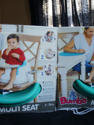 2X BUMBO portable highchairs