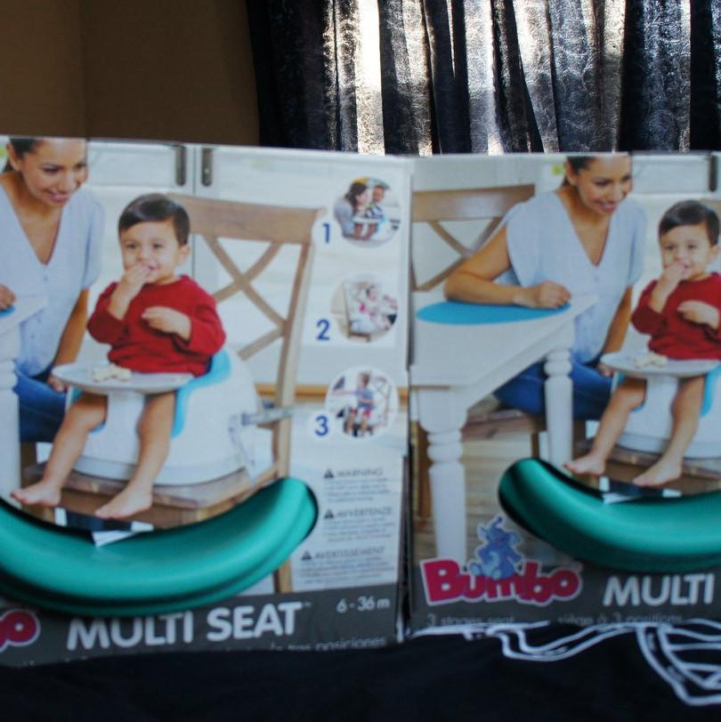 2X BUMBO portable highchairs