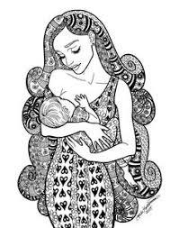 A Mother Breastfeeding