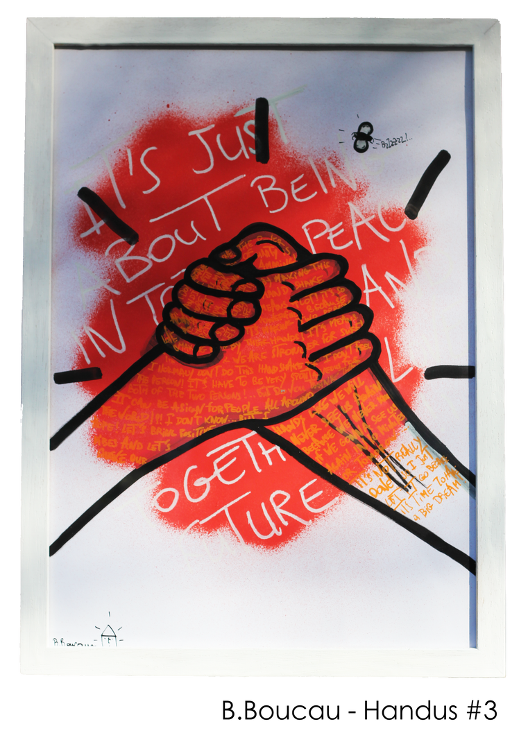 B. Boucau - Handus #3 (2019 - 29,7x42cm)