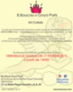 B. Boucau - Visuel Collab' B.Boucau x Go