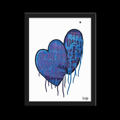 Feelus - Framed matte paper poster