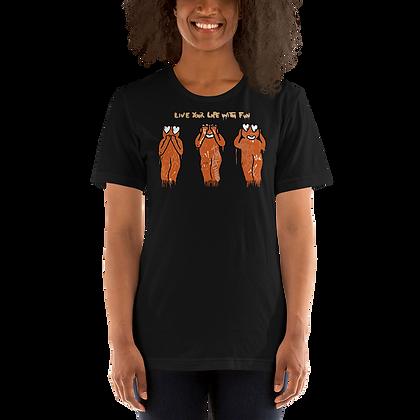Monkus - Short-Sleeve Unisex T-Shirt