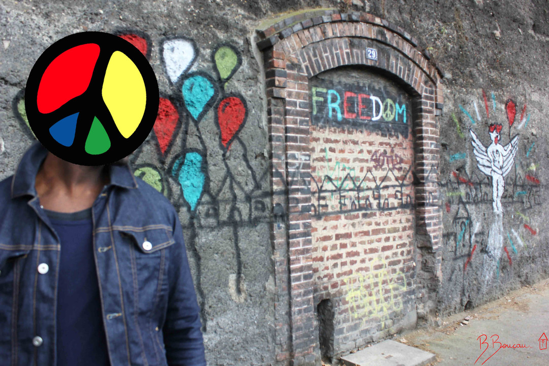 B.Boucau Freedom face Freedom Door 2016.jpg
