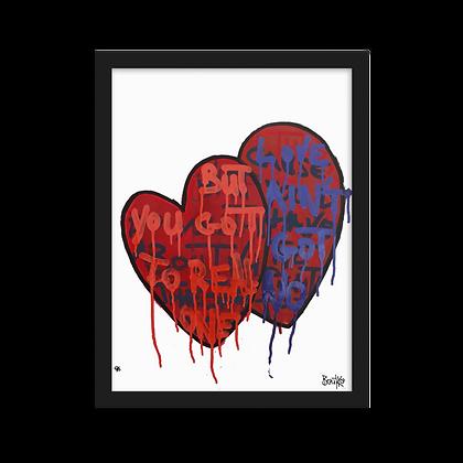 Feelus #2 - Framed matte paper poster