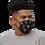 Thumbnail: Peace And Love (Blk) - Premium face mask