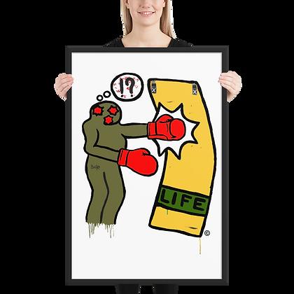 Boxus - Framed matte paper poster