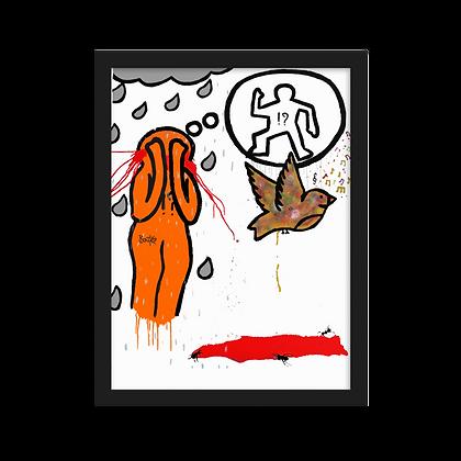 Tearsus - Framed matte paper poster