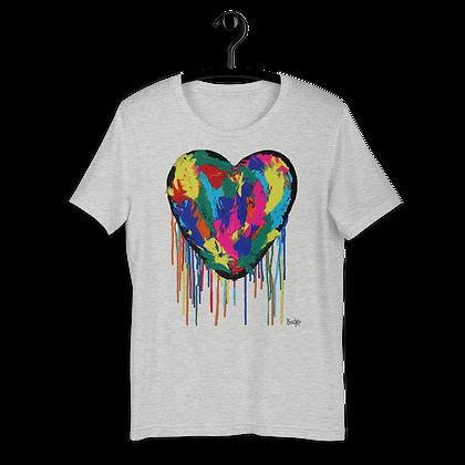 Heart Plumus - Short-Sleeve Unisex T-Shirt