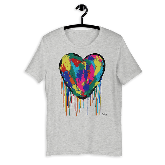 Heart Plumus - Short-Sleeve Unisex T-Shirt