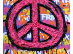 B. Boucau - Fever of Peace (2018 80x80cm