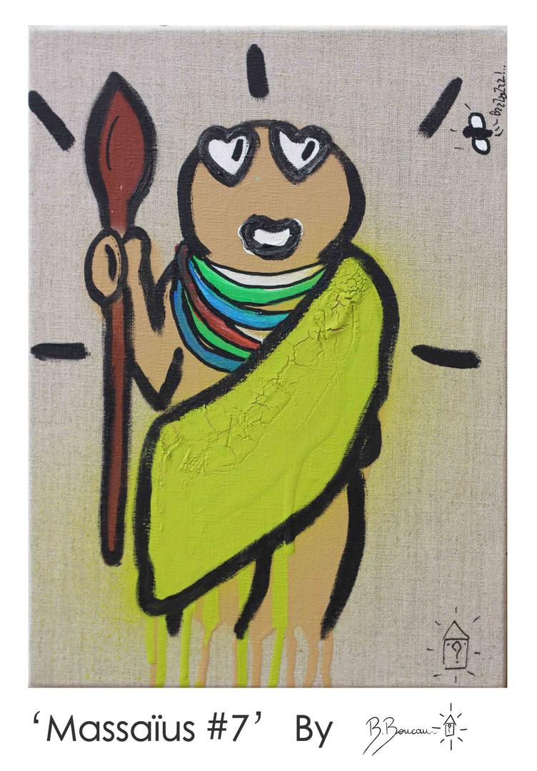 B. Boucau - Massaïus #7 (2019 - 33x24cm)