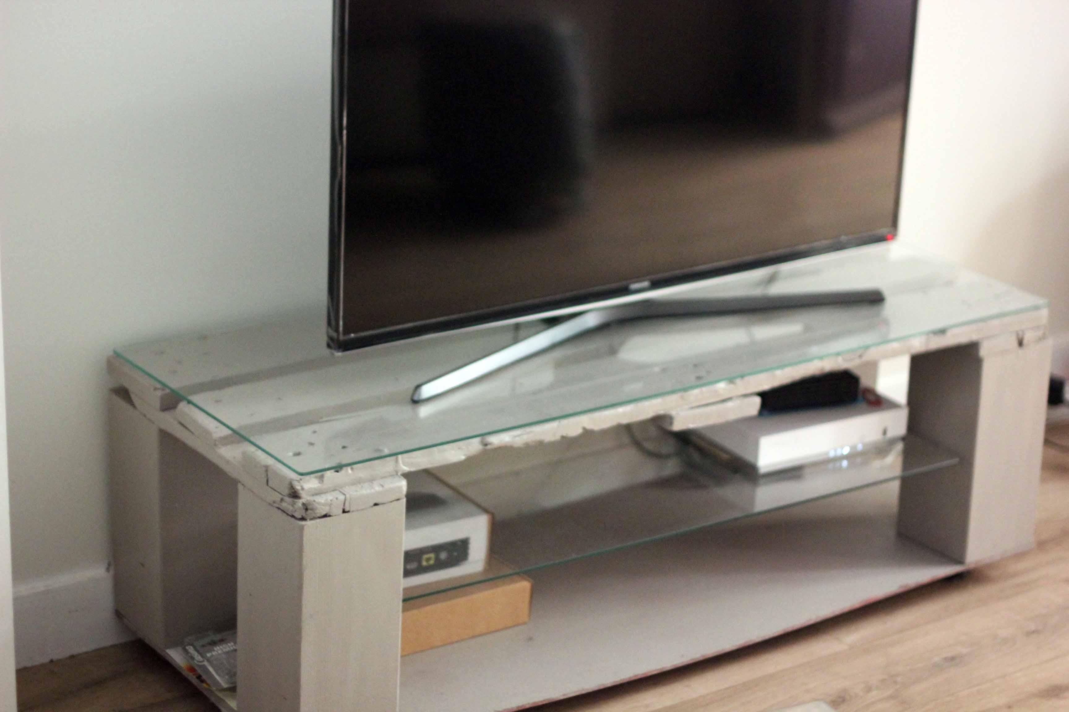 Boukko TV Stand Sylvus Grey Detail 2020