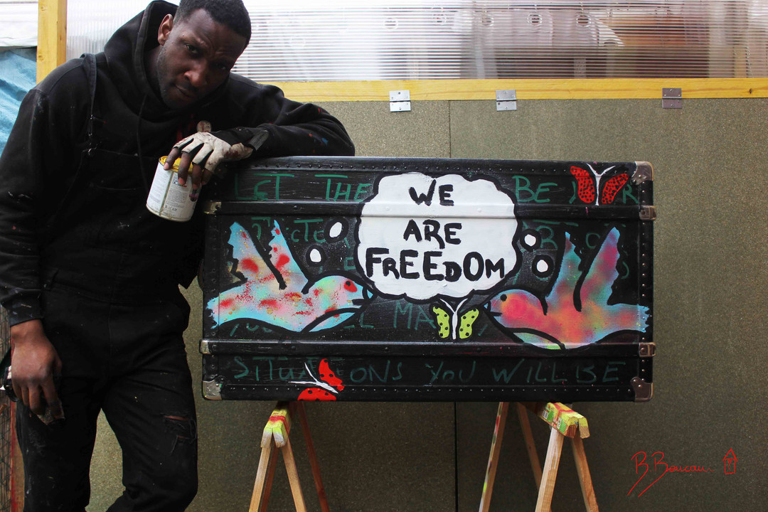B.Boucau We Are Freedom Trunk oustide 1.