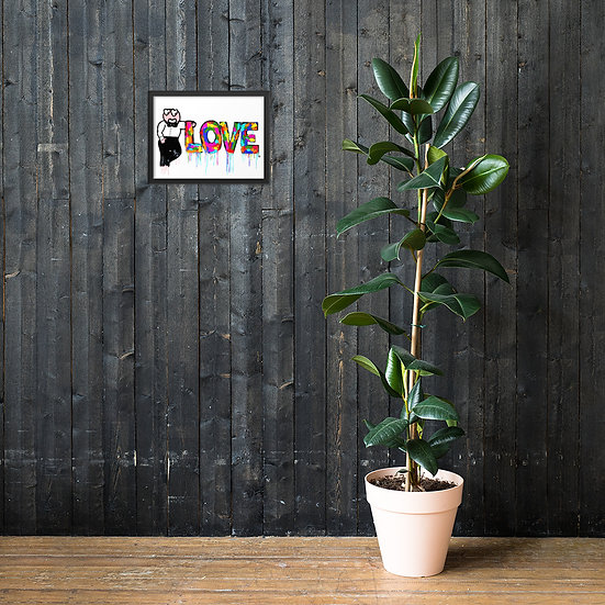 Lovus Lovus - Framed matte paper poster
