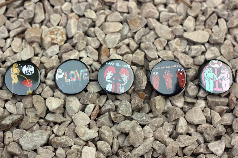 Black badges