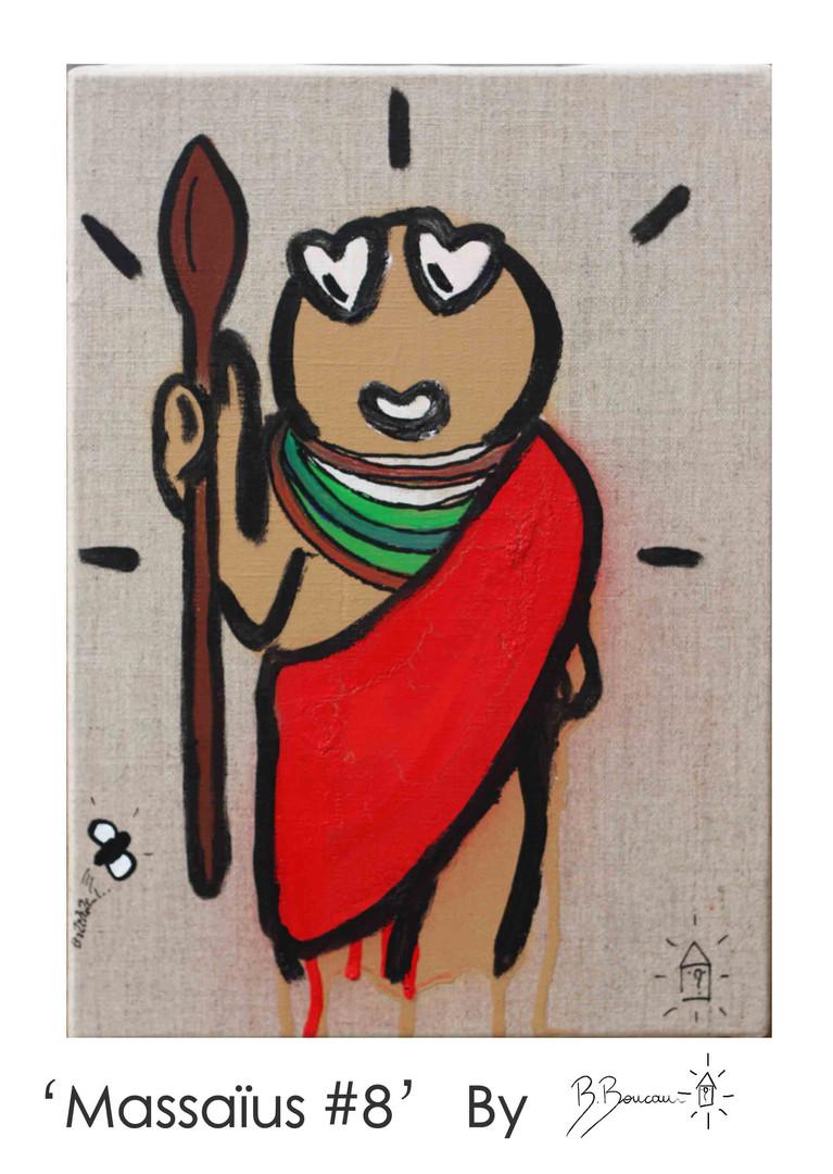B. Boucau - Massaïus #8 (2019 - 33x24cm)