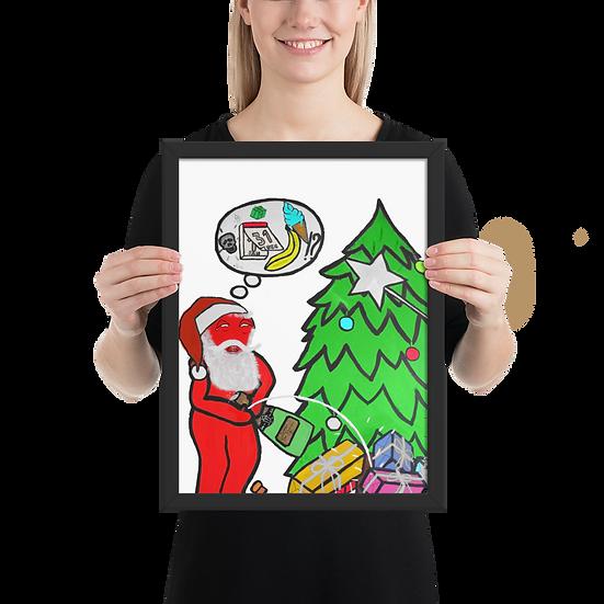 Xmus - Framed matte paper poster