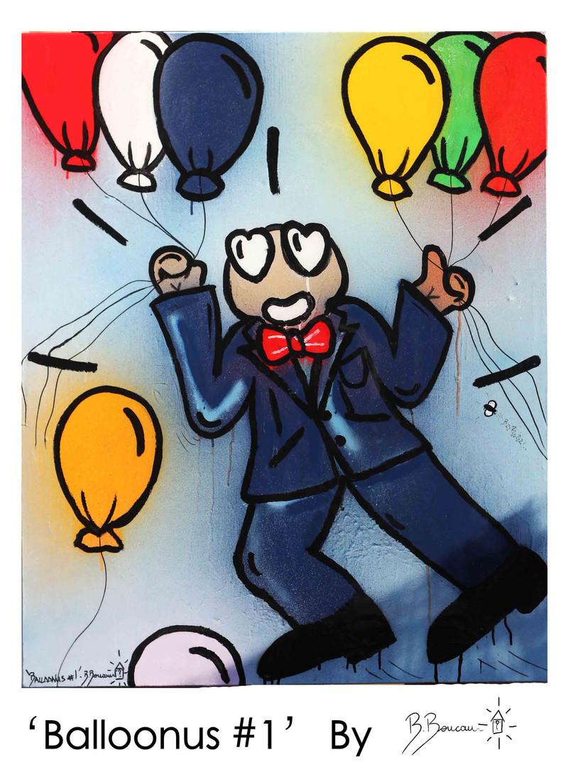 B. Boucau - Balloonus #1 (2019 - 81x100c
