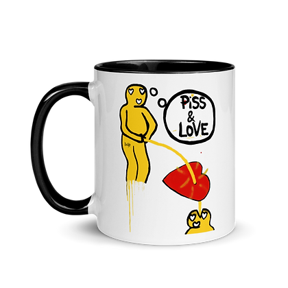 Piss and Lovus - Mug with Color Inside