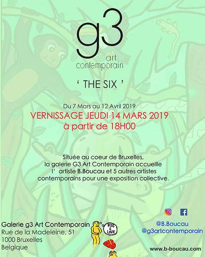 B. Boucau - Visuel B.Boucau at Gallery G