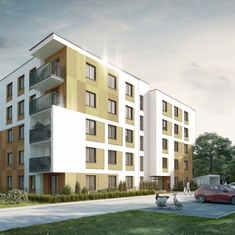 koncepcja budynku mieszkalnego