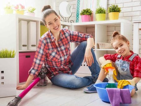 Cómo inculcar el orden y la limpieza en tus hijos