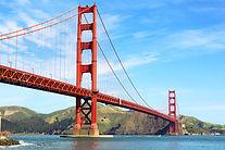Golden Gate Bridge in San Francisco, Cal