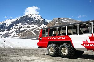 columbia icefield - athabasca glacier, j