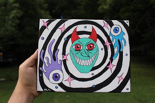Vortex of Evil by Mario Muñoz