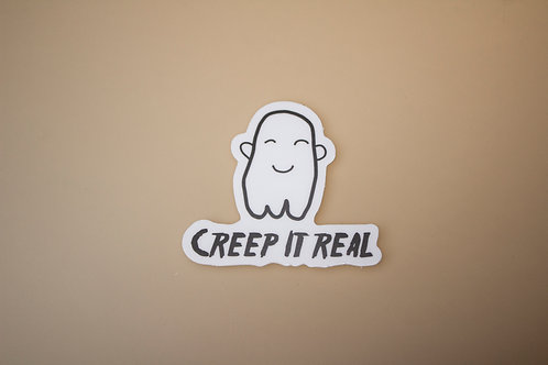 Creep It Real Sticker