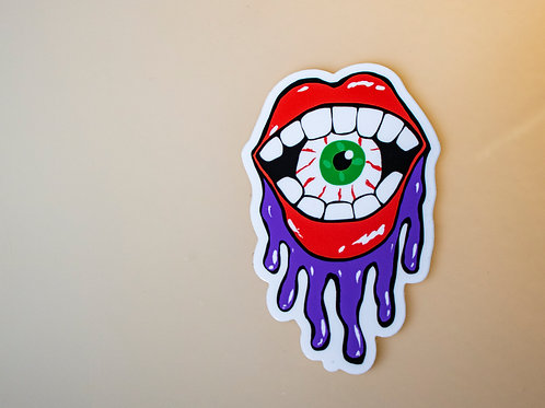 All Seeing Snack - Sticker