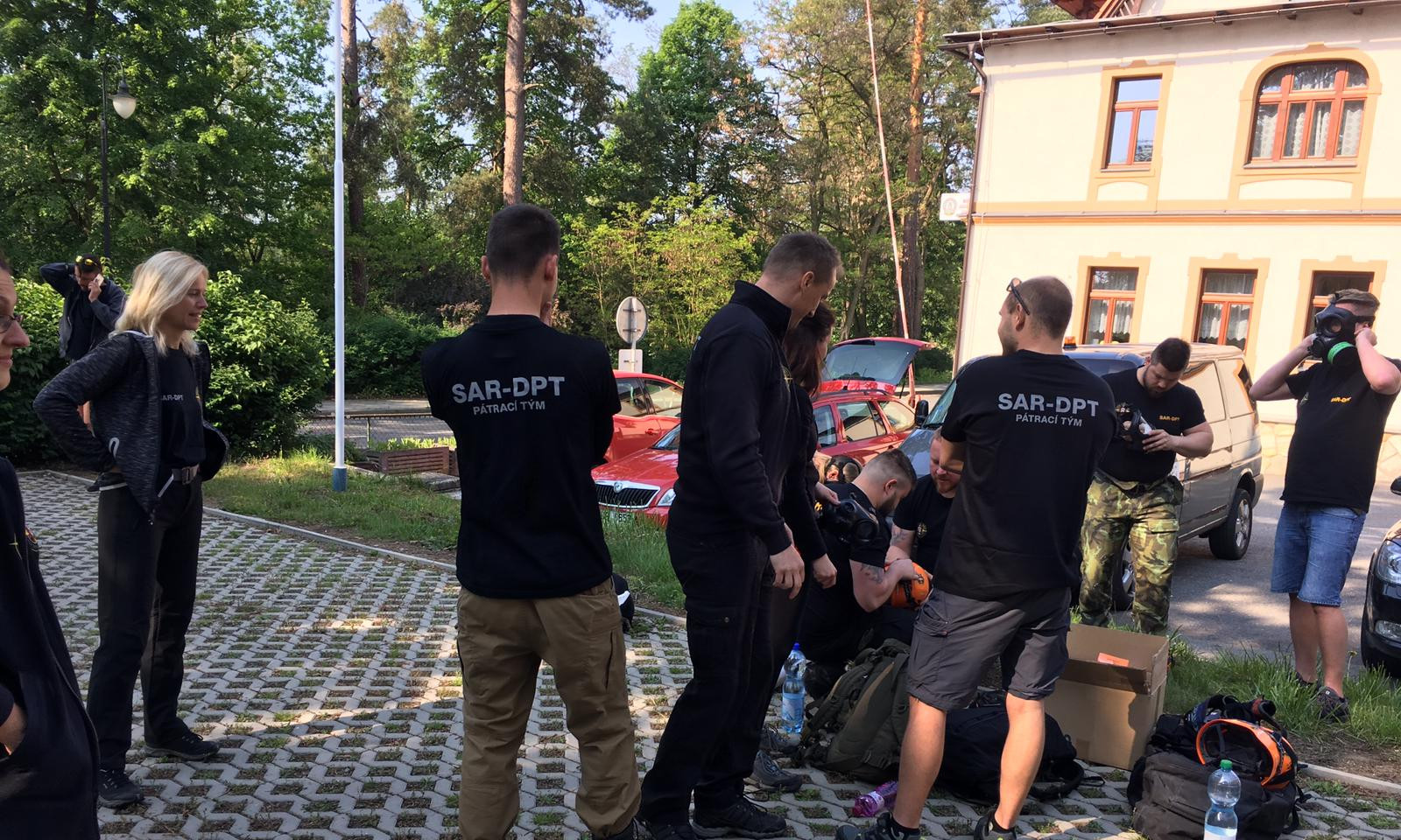 Výcviks Báňskou záchranou službou