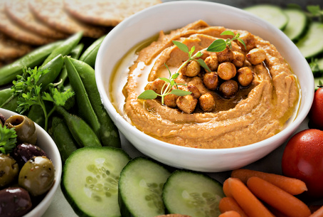 Lazy Hummus is the Best Hummus