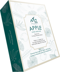 apple juice enzyme with gold frame, detox malysia