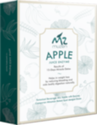 muzen apple enzyme, 11 ingredient, detox drink malaysia