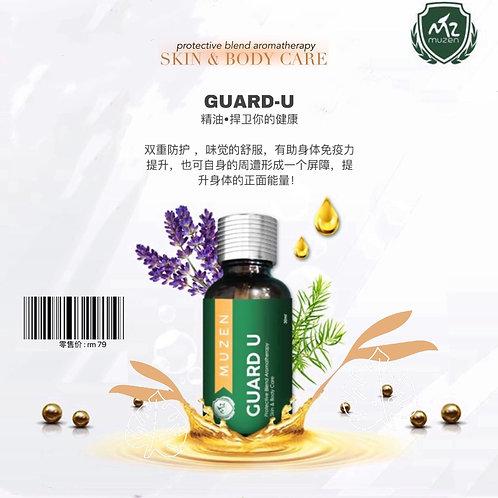 Muzen Guard-U Protective Blend Aromatherapy Essential Oil - 30ml