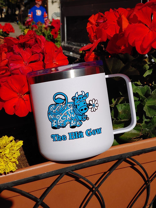 Blü Cow Stainless Mug