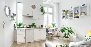6 apartamentów typu studio na wynajem krótkoterminowy przy ul. B. Śmiałego 7 w Szczecinie.