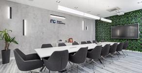 Biura Najda Consulting w Szczecinie - sesja dla AQForm - producenta rozwiązań oświetleniowych.