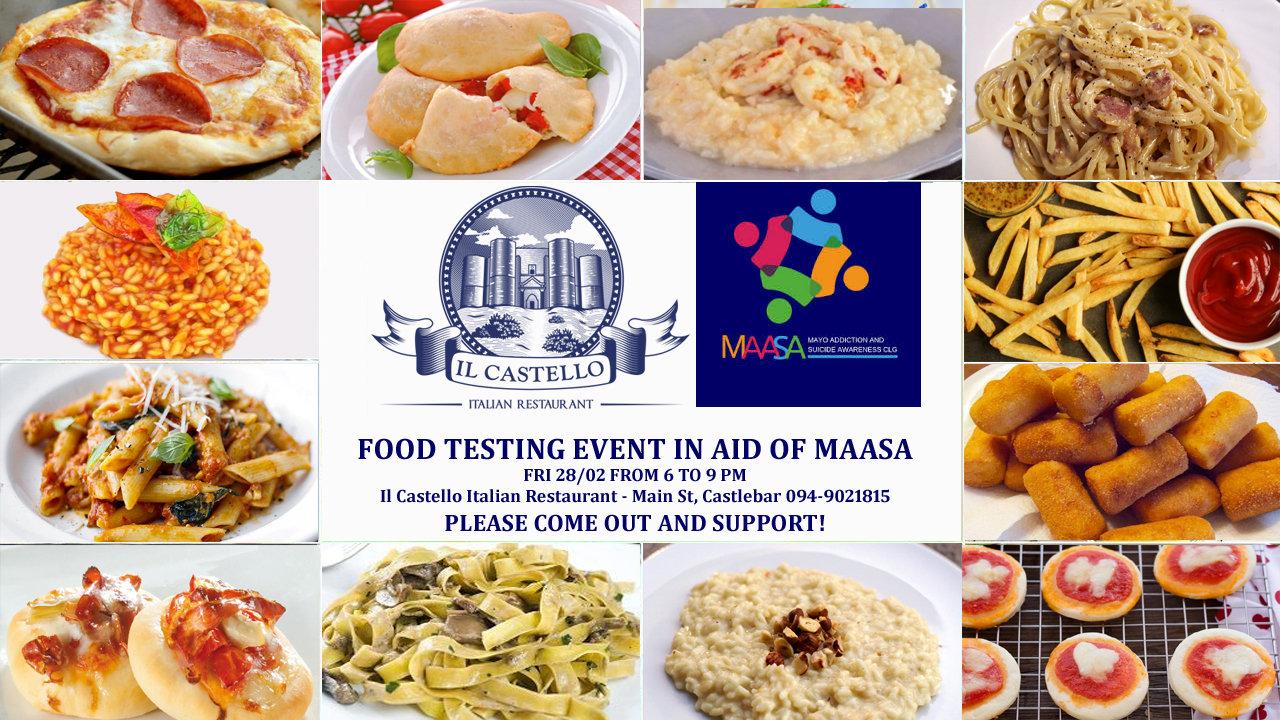 Food Tasting in aid of MAASA
