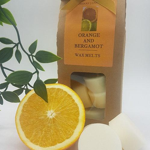 Wax Melt Orange & Bergamot