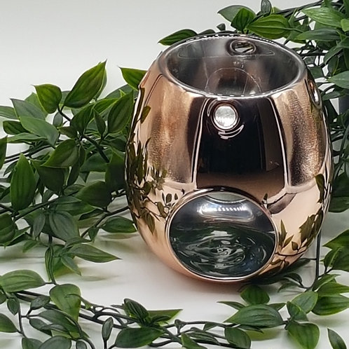 Wax Melter Electroplated Rose Gold