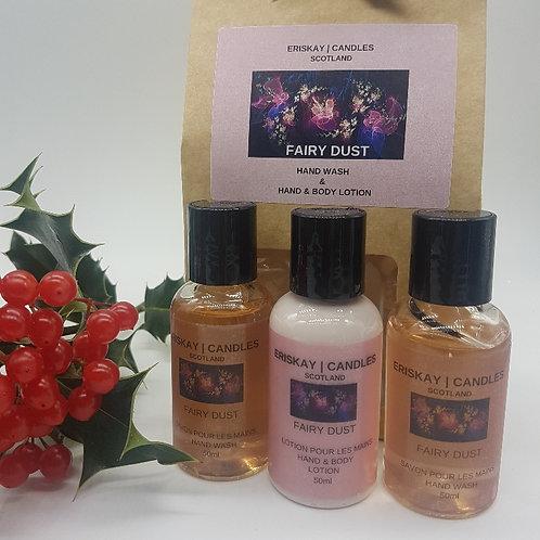 Trio Gift Set - Fairy Dust Hand Wash & Hand& Body Lotion