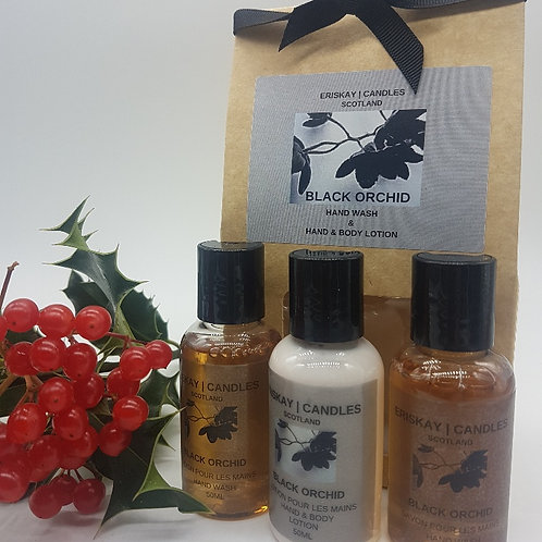 Trio Gift Set - Black Orchid Hand Wash & Hand & Body Lotion