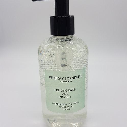 Lemongrass and Ginger Hand Wash