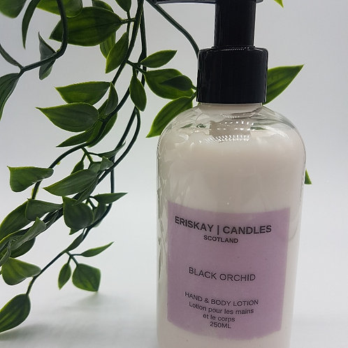 Hand & Body Lotion - Black Orchid