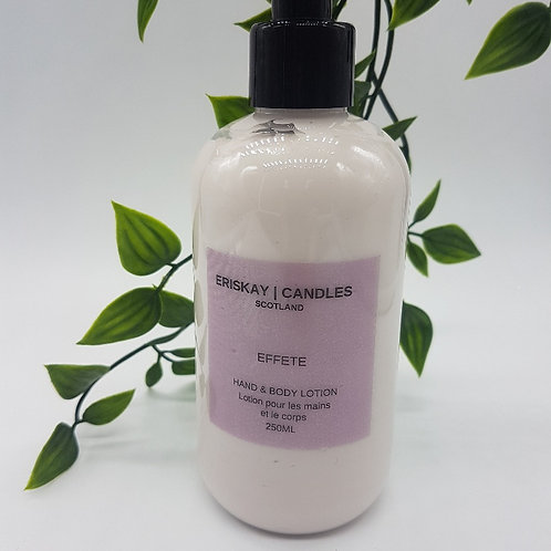 Hand & Body Lotion - Effete