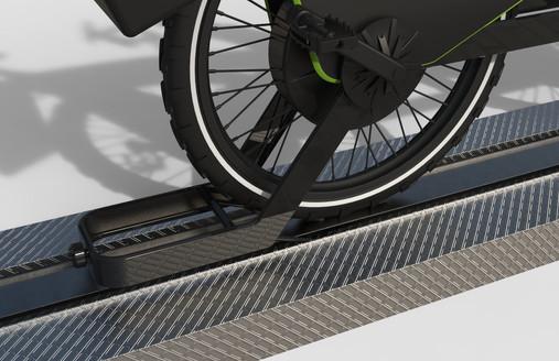 tandem e bike rail connection
