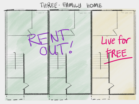 How to Live Rent-Free through House Hacking